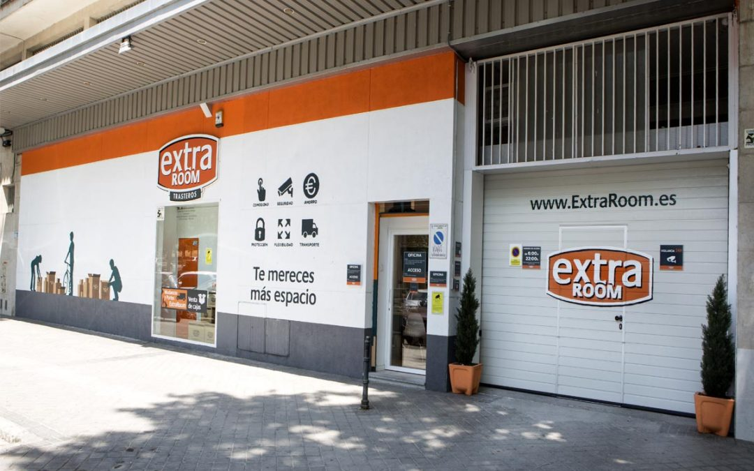 Guardamueble en Usera Madrid - Extraroom